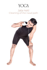Yoga Jala neti cleansing technique