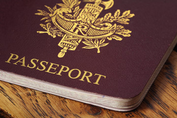 Passeport gros plan