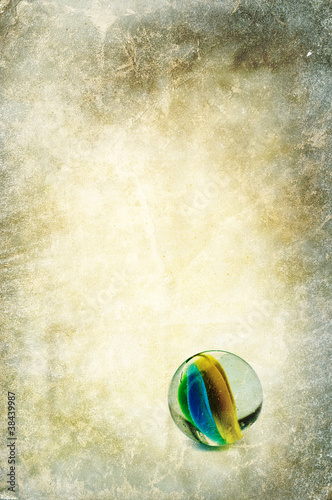 glass marble backdrop