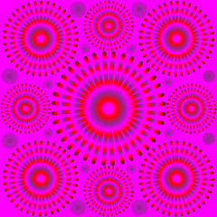 Pulse Pattern  (motion illusion)
