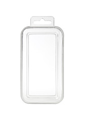 Plastic transparent container