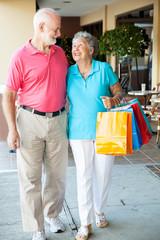 Happy Senior Shoppers