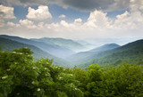 Blue Ridge Parkway Scenic Mountains Overlook WNC
