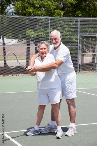Romantic Tennis Lessons