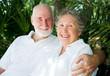 Senior Couple in the Tropics