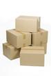 Cajas de cartón apiladas, recortada 4