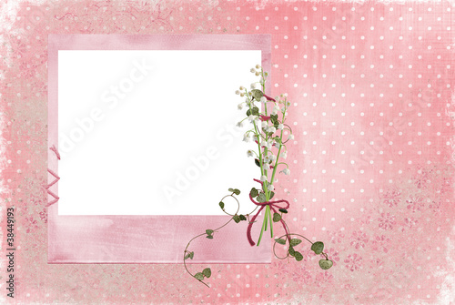 Lily of the Valley frame