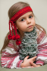 Ukrainian little girl
