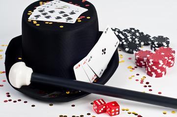 Glückspiel/Zylinder