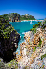 landscape of Knysna, Western Cape province, South Africa