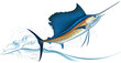 Jumping sailfish - 38451198