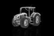 Traktor in 3D
