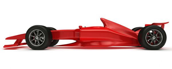 3D rendered Concept formula Car