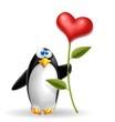 pinguino cuore