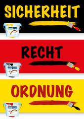 Vorlage Plakat Rechtsstaat Deutschland