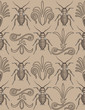 Elegant cockroach wallpaper repeating seamless pattern swatch