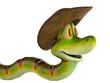 snake cowboy side view