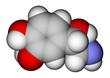 Norepinephrine space filling molecular model