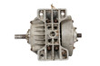 Old electric motor (isolated)