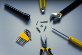 diy tools and equipment poster