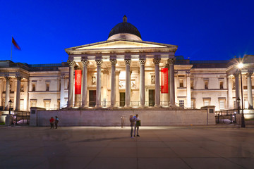 The national gallery, London, UK.