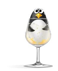 pinguino nel calice
