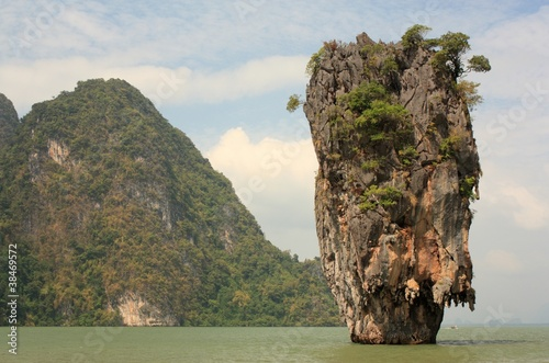 James Bond island. Phuket. Thailand.