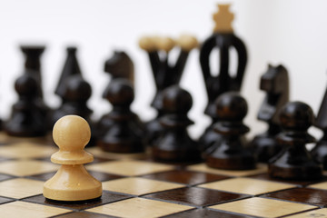 One Pawn Against Whole Opponent.