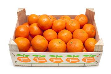 mandarins in box
