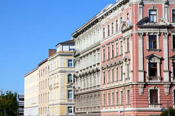 Vienna - old residential architecture