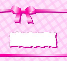 hintergrund rosa schleife