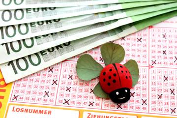 Lottoglück-Geld