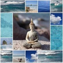 Bouddha am blauen Meer - Entspannung für Körper, Geist und Seele