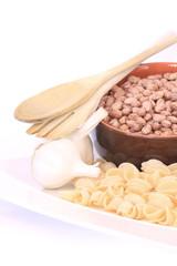 Pasta, aglio e fagioli