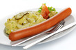 Bockwurst mit Kartoffelsalat