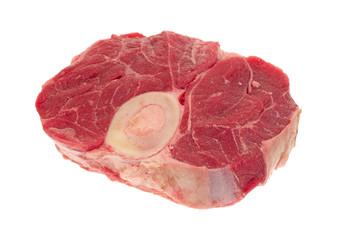 Beef hind shank steak