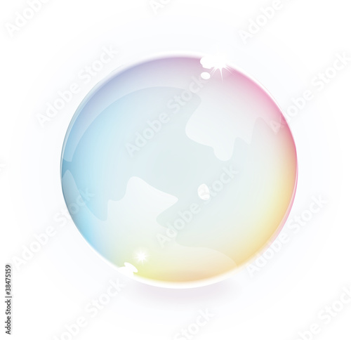 Vector Transparent Bubble