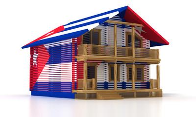 wooden house CUBA