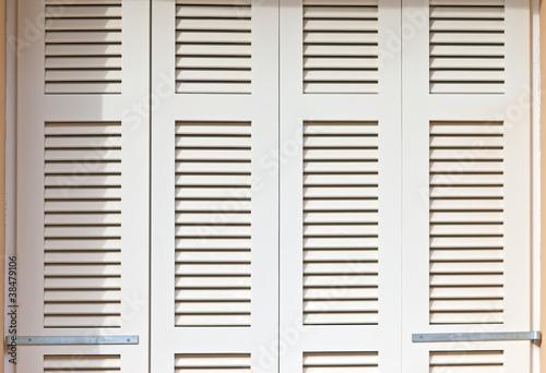 White shutters - 38479106