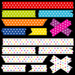 Tape Set Stars Rainbow Colours