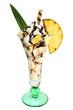 Ananas-Eisbecher