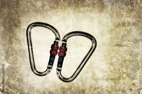 carabiner background