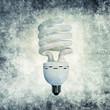 energy bulb print