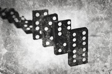 grunge domino texture