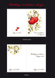 Template for Weddind invitation card