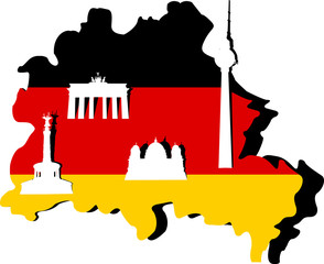 Germany Map and Berlin