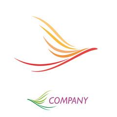 Logo simple eagle # Vector