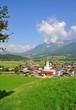 der bekannte Urlaubsort  Ellmau in Tirol