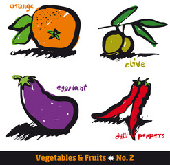 Vegetables & Fruits 2