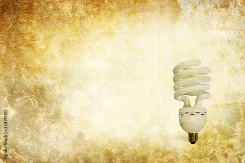 textured light bulb
